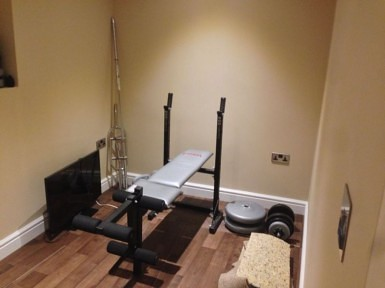 Basement Conversion Into Home Gym