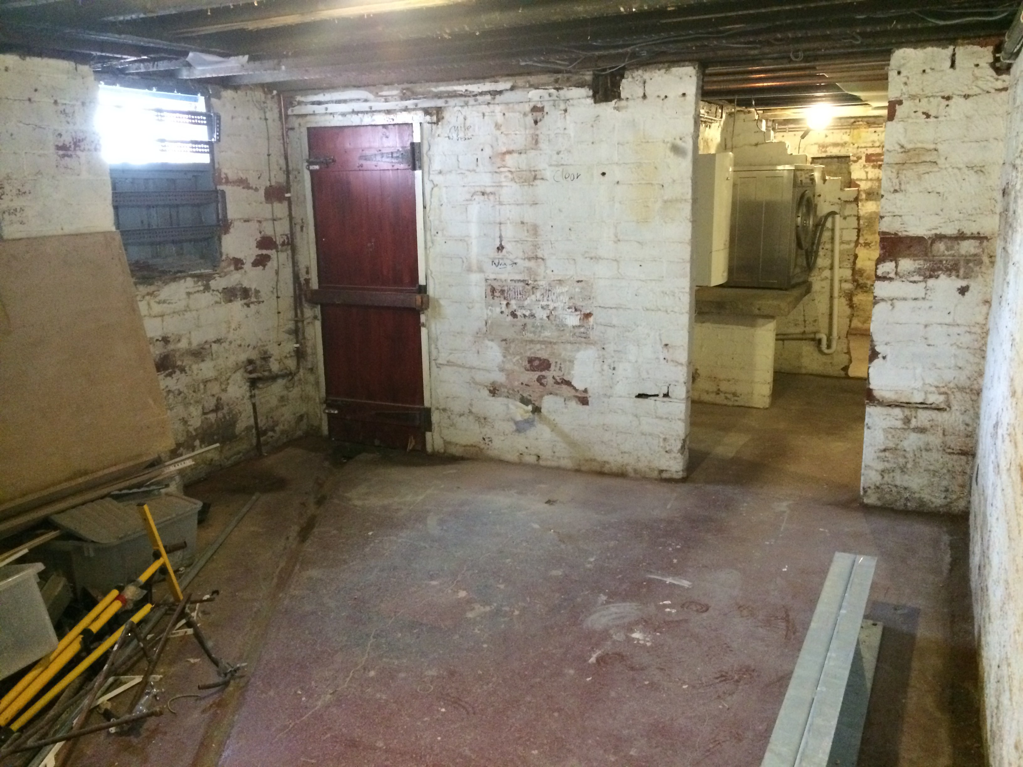 Basement Conversion In Roundhay For Work Space Amp Shower