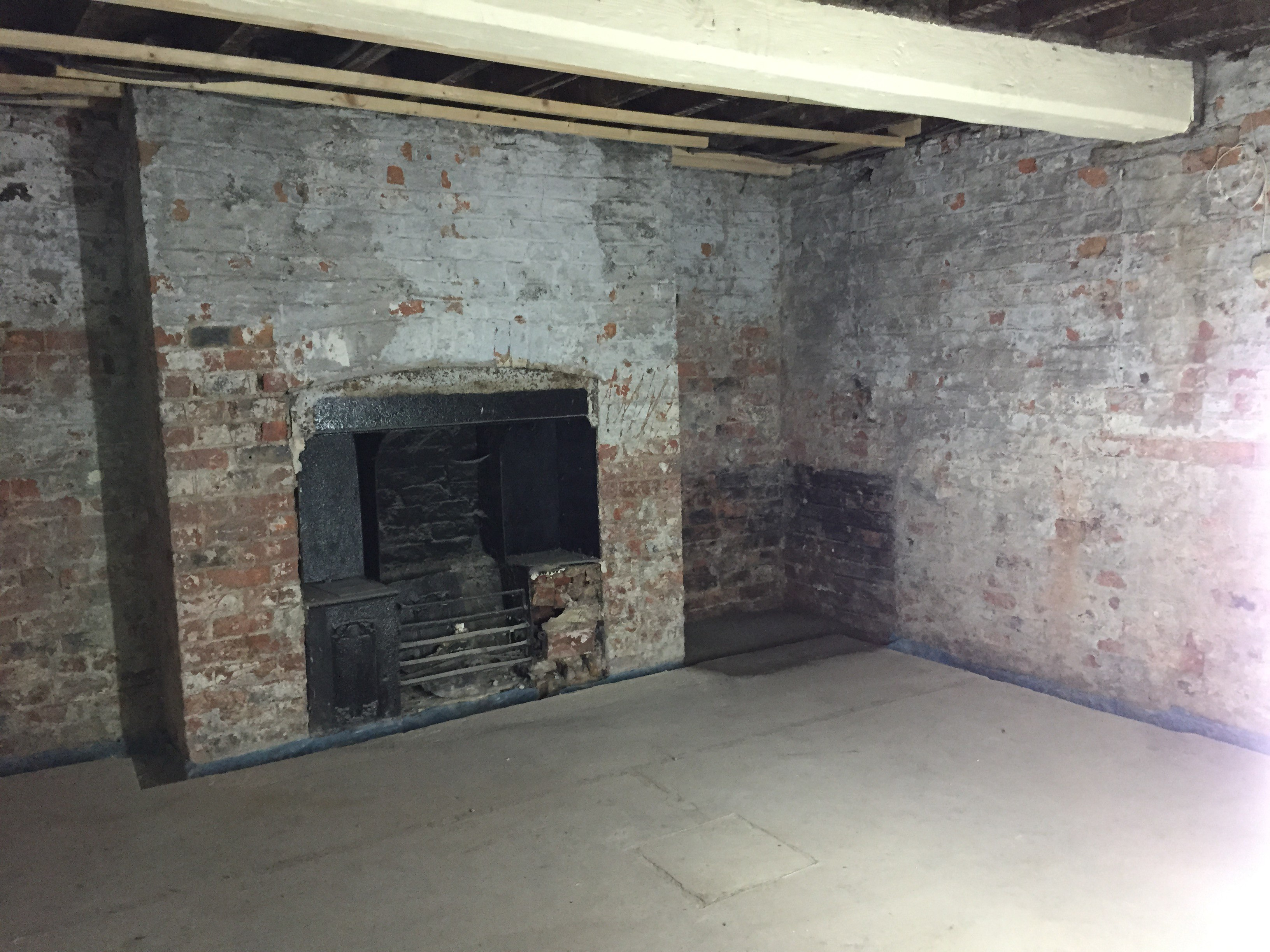 basement waterproofing project in york for construction company
