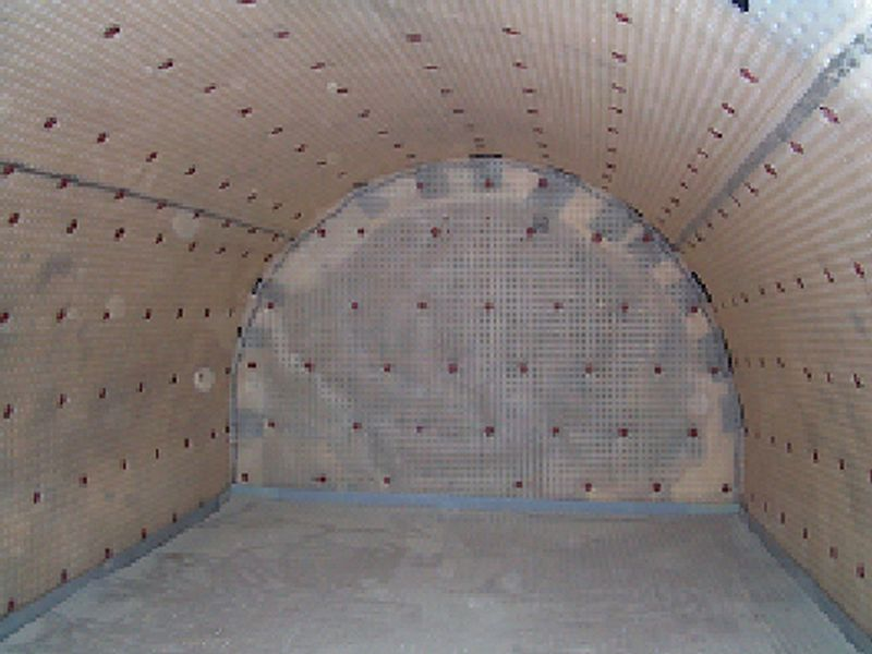 Conversion of a damp barrel vaulted basement in leeds to