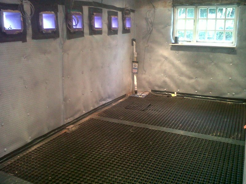 we have used pure basement systems twice now for basement conversions