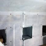 Leeds Basement Conversion - Damp Barrel Vaulted Basement To Dry Storage Space