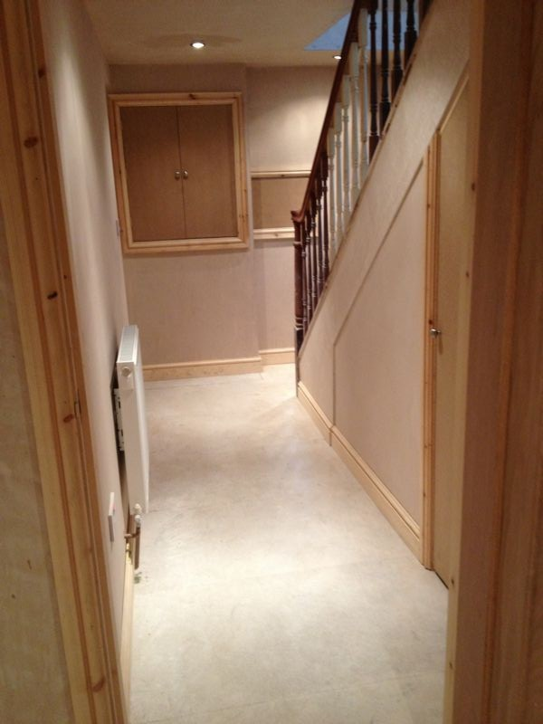 Basement Conversion In Harrogate To Two Ensuite Bedrooms