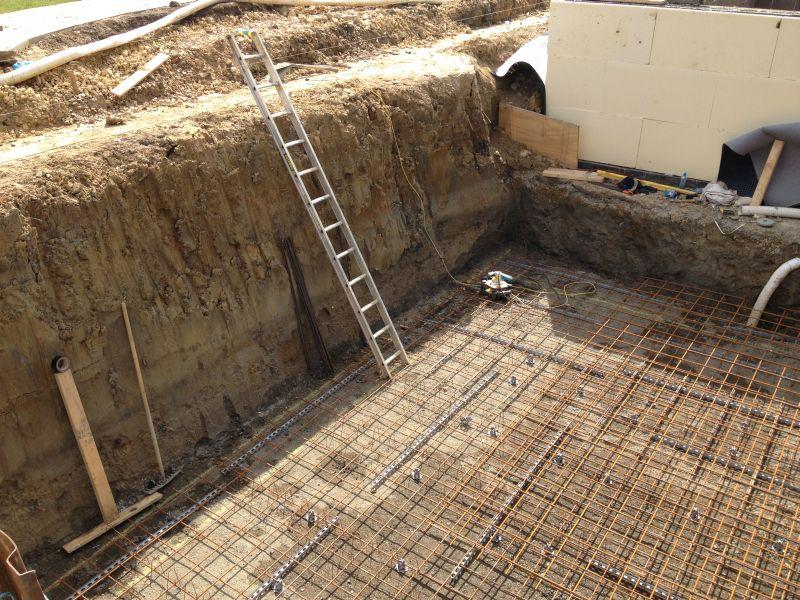 insulated concrete framework icf waterproofing in hadden
