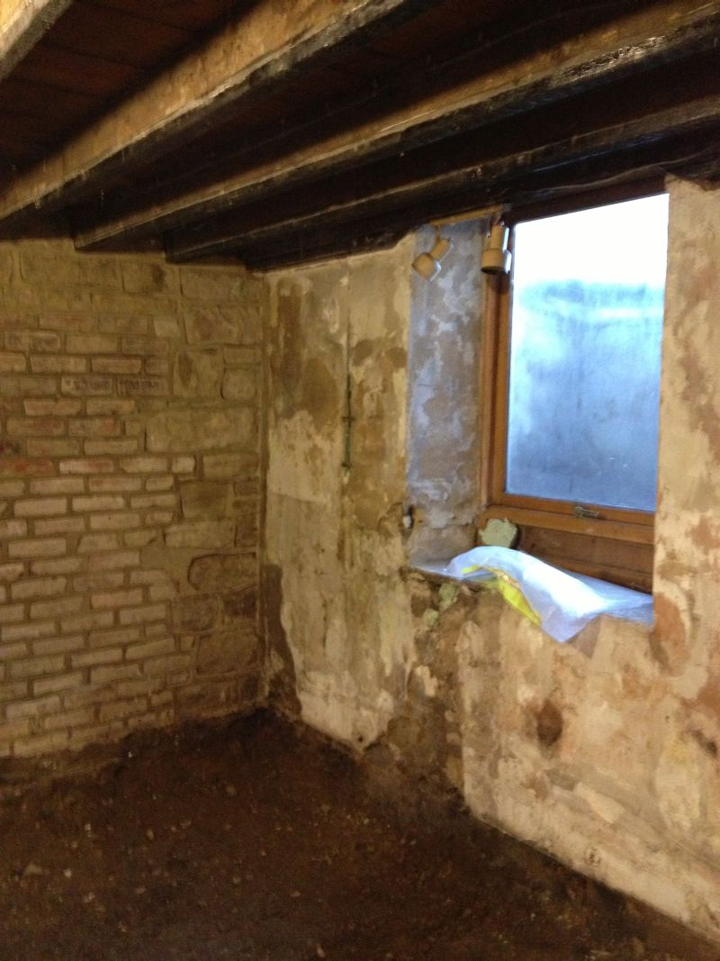 Conversion Of Wet Basement In Otley To Ensuite Bedroom